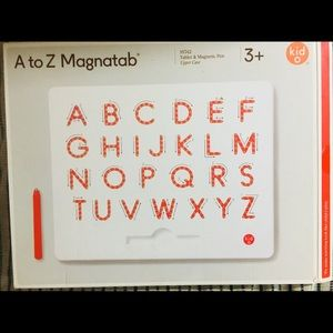 A to Z magnet